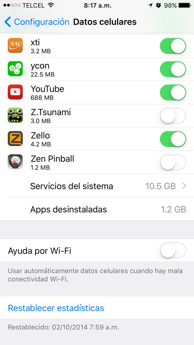 Ajustando el iOS 9.0.x